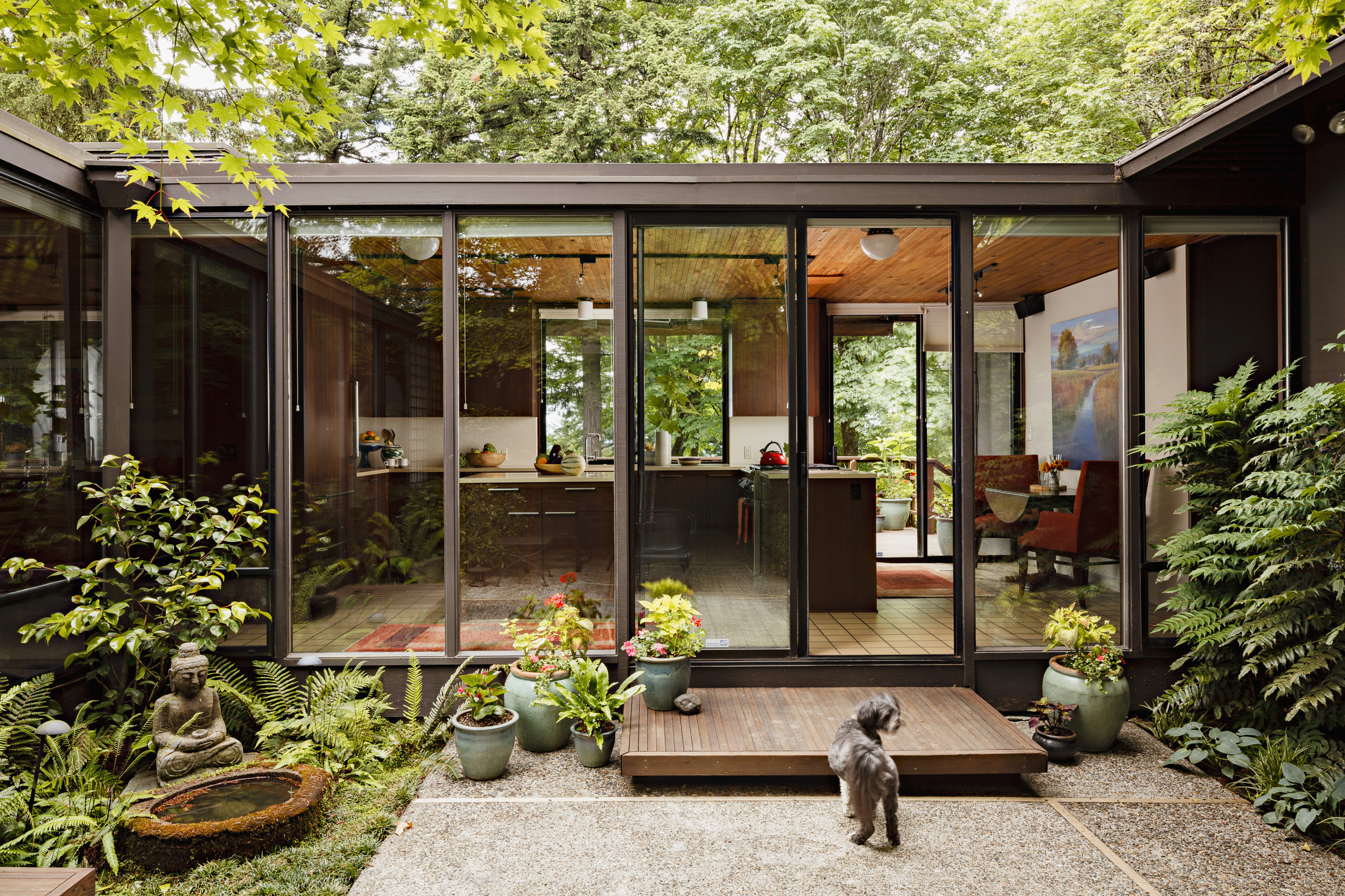 Mid Century Modern House Plans With Courtyard : HOUSE ...