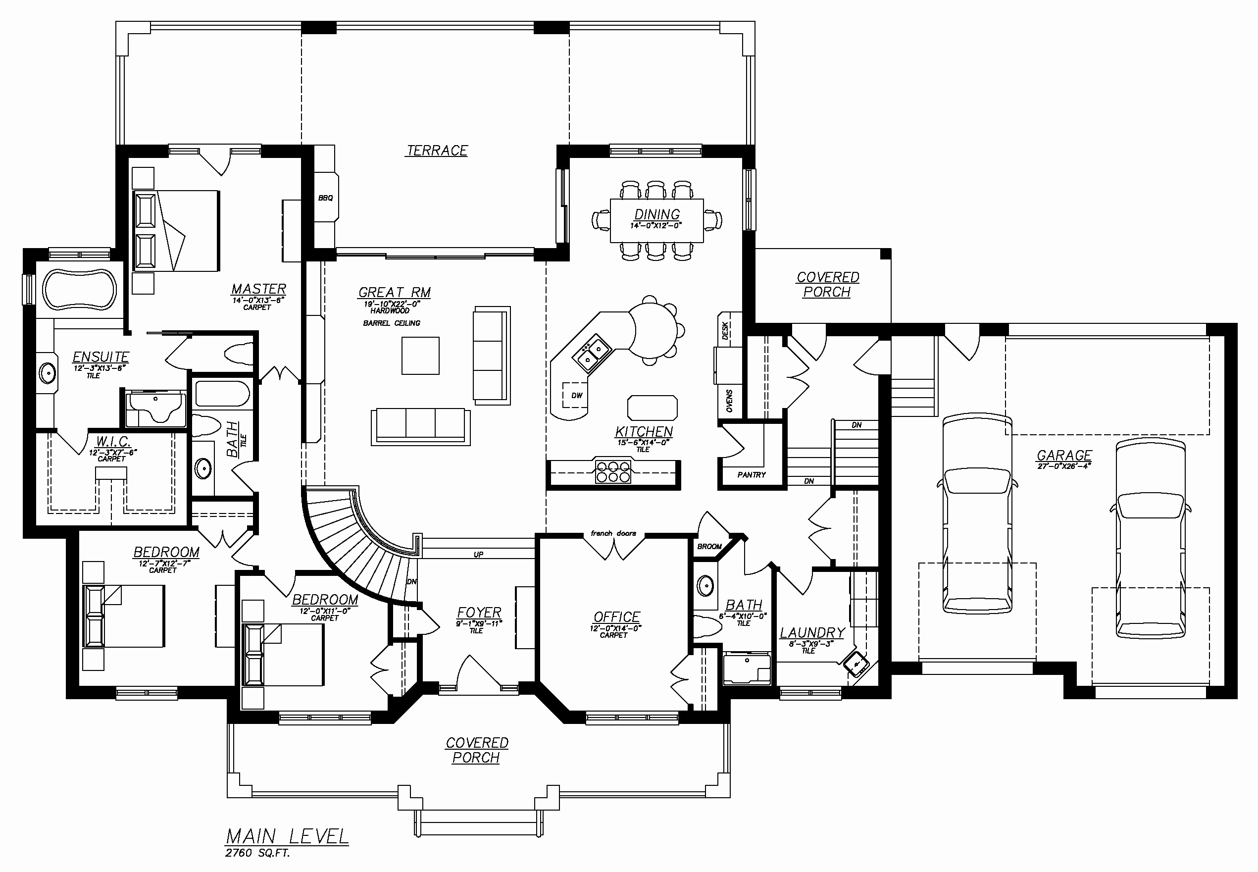 finishing your rambler floor plans with walkout basement